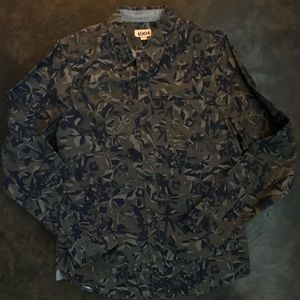 Men's Nordstrom 1901 Long Sleeve Camo Shirt